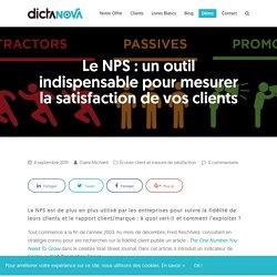 NPS ou Net Promoter Score : définition et bonnes pratiques
