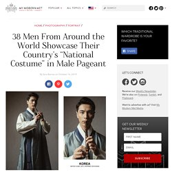 Male Beauty Pageant Promotes Cultural Dress and a Charitable Spirit