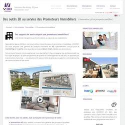 Des solutions en 3D dédiées aux Promoteurs Immobiliers - V3D Immobilier