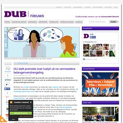 DUB: stelt promotie over lustpil uit na vermoedens belangenverstrengeling