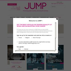 Studies - JUMP Promoting gender equality, advancing the economy