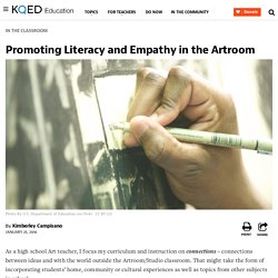 Promoting Literacy and Empathy in the Artroom