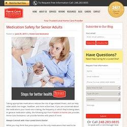 Promoting Medication Safety for Older Adults