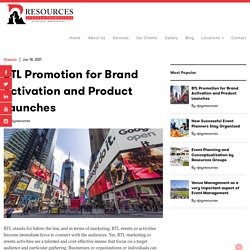 BTL Promotion for Brand Activation & Product Launches