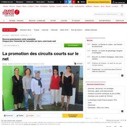 OUEST FRANCE 02/07/15 La promotion des circuits courts sur le net