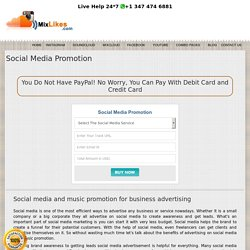 Music Promotion Company Online