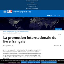 La promotion internationale du livre français