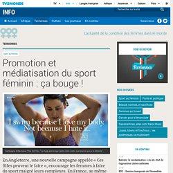 Promotion et médiatisation du sport féminin: ça bouge!