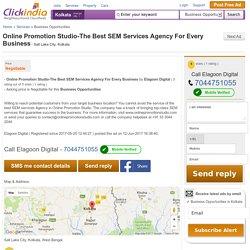 Online Promotion Studio-The Best Business Opportunities Salt Lake City Kolkata 143131486