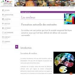 La couleur - 3ATP.ORG : site pour la promotion du métier de restaurateur de tableaux