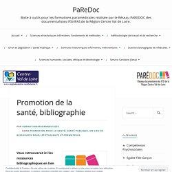 Promotion de la santé, bibliographie
