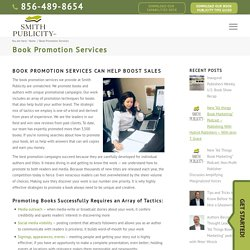 Book Promotion Services Can Help with Sales