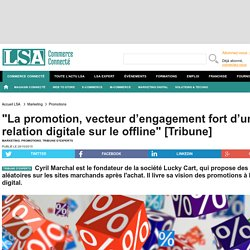 """La promotion, vecteur d'engagement fort..."