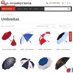 Personalised Umbrellas & Corporate Umbrellas Wholesale