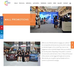 Mall promotions - Manpower for Mall promotions in Delhi, India