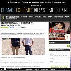 Lancement de Consomap, le réseau social des promotions à Montpellier