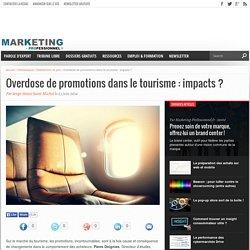 Overdose de promotions dans le tourisme : impacts