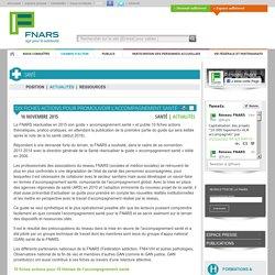 Dix fiches actions pour promouvoir l'accompagnement santé