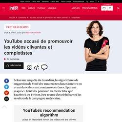 YouTube accusé de promouvoir les vidéos clivantes et complotistes