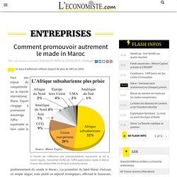 Comment promouvoir autrement le made in Maroc