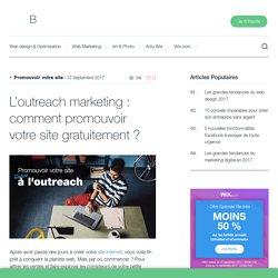 L'outreach marketing : comment promouvoir votre sitegratuitement ? - Wix.com