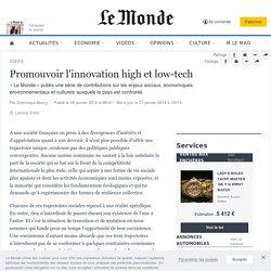 Promouvoir l'innovation high et low-tech