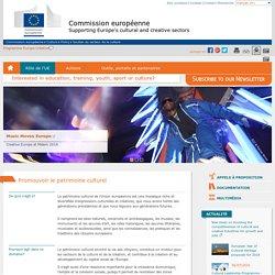 Promouvoir le patrimoine culturel - Commission européenne