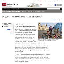 Un site Internet pour promouvoir le tourisme religieux en Suisse.