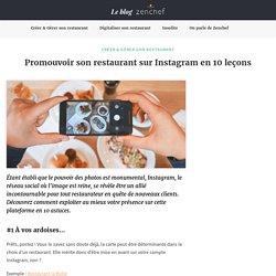Promouvoir son restaurant sur Instagram en 10 leçons