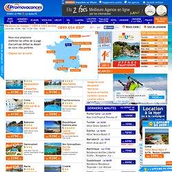 Promovacances - billet d'avion - la garantie du meilleur prix !