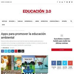 Apps para promover la Educación ambiental
