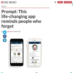 Prompt: This life-changing app reminds people who forget