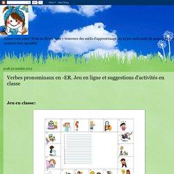 JeuxFle: Verbes pronominaux en -ER. Jeu en ligne et suggestions d'activités en classe