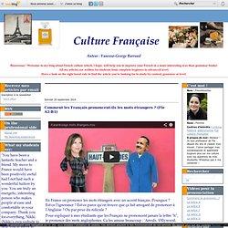 Comment les Français prononcent-ils les mots étrangers ? (Fle A2-B1)