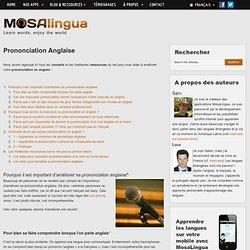 Prononciation Anglaise - Mosalingua