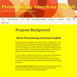 Online Accent Improvement Program