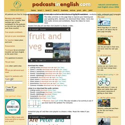 Extra pronunciation activities for listening to English and learning English