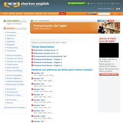 English Pronunciation - Guía de la pronunciación del inglés