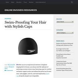 Swim-Proofing Your Hair with Stylish Caps – Metro Swim Shop