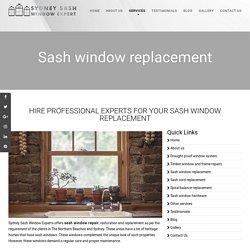 Sash Window Restoration Sydney, The Northern Beaches