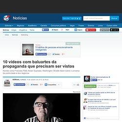 10 vídeos com baluartes da propaganda que precisam ser vistos - Notícias - Marketing