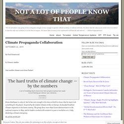 Climate Propaganda Collaboration