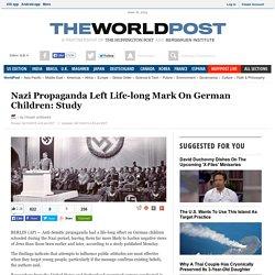 Nazi Propaganda Left Life-long Mark On German Children: Study