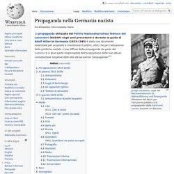 Propaganda nella Germania nazista