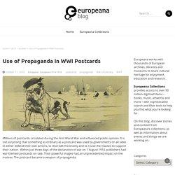 Use of Propaganda in WWI Postcards – Europeana Blog