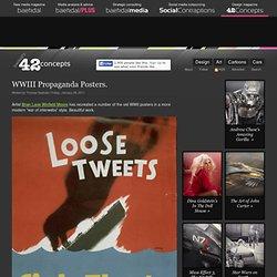 WWIII Propaganda Posters (by @baekdal) #design