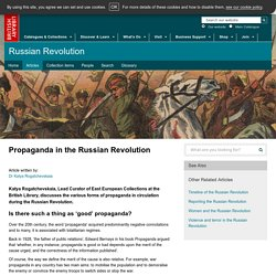 Propaganda in the Russian Revolution – The British Library