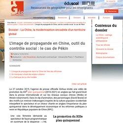 L'image de propagande en Chine, outil du contrôle social : le cas de Pékin