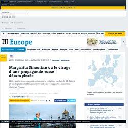 Margarita Simonian ou le visage d'une propagande russe décomplexée