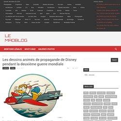 Les dessins animés de propagande de Disney pendant la deuxième guerre mondiale